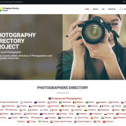 Photography Directory Project announces new website